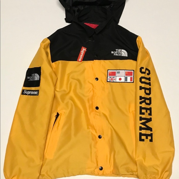 388a58e14 Supreme x The North Face Map Jacket NWT